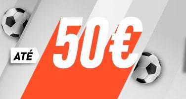 Primeira Aposta Sem Risco até 50€